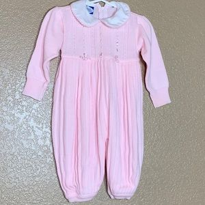 Carriage Boutiques baby girl jumpsuit